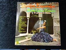 C1960 María Luisa Romero 'y su grupo de baile' 33 RPM vinyl record