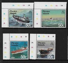 1987 Ships set 4 in Imprint Corners Complete MUH/MNH