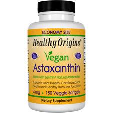 Healthy Origins Vegan Astaxanthin 4 mg 150 Veggie Softgels