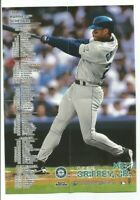 KEN GRIFFEY JR (Seattle Mariners) 1998 FLEER SPORTS ILLUSTRATED MINI-POSTER #27
