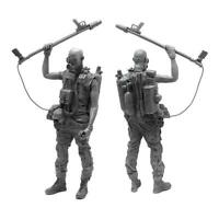 1/35 Soldier Resin Figure Model kit U3Z8