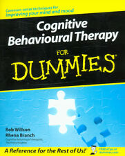 Cognitive behavioural therapy for dummies by Rob Willson (Paperback) Great Value