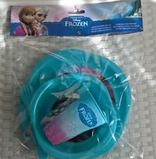 New listing Disney Frozen 5 piece Meal Set for Children Tumbler Bowl Plate Spoon Fork New