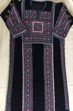 Hand made Palestinian Thobe Middle Eastern Velvet Women Dress NEW