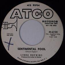LINDA HOPKINS: Sentimental Fool USA ATCO Love is a Many Splendored R&B Hear