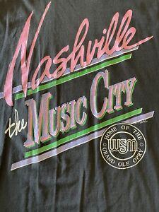 Vintage 90s Nashville The Music City Screen Stars Best GRAND OLE OPRY T-Shirt XL