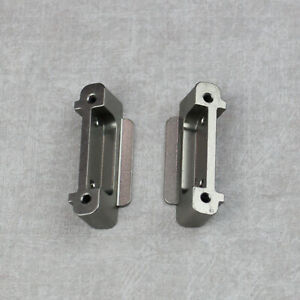 Front and Rear Bumpers for Wltoys A959B A969B A979B Metal Upgrade