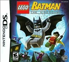 LEGO Batman: The Videogame (Nintendo DS) Lite Dsi xl 2ds 3ds xl bat man