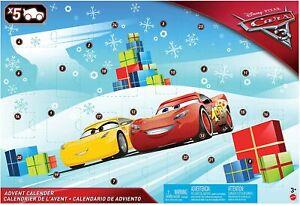 Disney Pixar Cars 3 Advent Calendar Playset with Die Cast Vehicles FGV14