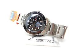 SEIKO DIVER'S AUTOMATIC SUBMARINER MODIFIED SNZF17J  'PITCH BLACK'