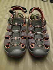 KEEN Mens  Hiking Shoes Size 10.5 waterproof Gray Rust