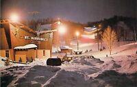 LOT 2 MI MT MANCELONA SKI AREA @ Night Lodge 1959-64 Dexter Press postcard M00
