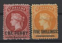 G129971/ ST HELENA / BRITISH COLONY / SG # 6 - 20 MINT MH – CV 170 $