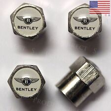 Bentley Logo Tire Wheel Air Valve Stem Caps Covers Mulsanne Flying Spur SUV USA