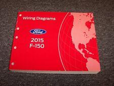 2015 Ford F150 Truck Electrical Wiring Diagram Manual XL XLT Lariat King Ranch
