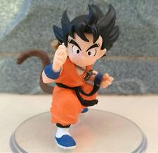 Anime Dragon Ball Z Son Goku Gokou Styling Childhood Youth Figure Figurine 8cm N