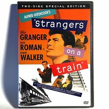 Strangers On A Train (2-Disc Dvd, 1951, Special Ed.) Like New ! Farley Granger