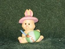 Hallmark Merry Miniature 1993 Bunny Painting Egg - Easter - New