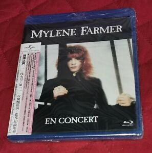 "Mylène Farmer: Blu-Ray ""En Concert"" + OBI - Édition Limitée -Taiwan - 1989/2021."