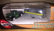 Hot Wheel Hemmings Motor New '56 Ford Pickup and '49 Airstream Clipper 1:64 DC N