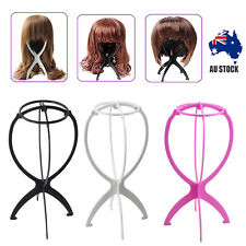 3PCS High Quality Folding wig Stand Holder Display for wig or hat display tool