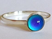 Princess of the Light - Mood Ring - 6 mm - Sterling Silver 925