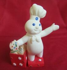 Danbury Mint 1997 December Pillsbury Doughboy Reading Figurine