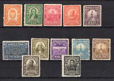 PANAMA #220-231  MINT H {222,230 THIN NOT CONTED} (1610070)