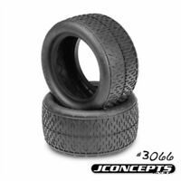 JConcepts 306602 Bro Codes 1/10th Buggy Rear Tires Green Compound (2)
