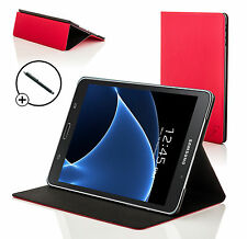 Red Clam Shell Smart Case Cover Samsung Galaxy Tab A 7.0 SM-T280 + Stylus