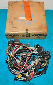 1964 Ford Falcon Futura Sprint NOS UNDER DASH WIRING HARNESS w/ 2-SPEED WIPERS