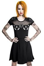 Killstar Show Me Your Kitties mesh dress goth gothic size XS cats lucipur