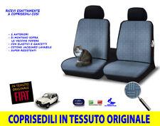 Coprisedili anteriori Fiat Panda VAN 1986>2003 141A in tessuto originale per kit
