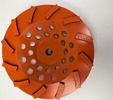 "Rigid 7 "" 12-Segment Turbo Cup Grinding Wheel"