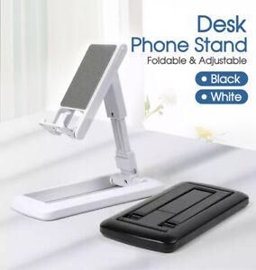 Universal Foldable Adjustable Desk Stand Holder For Mobile Phone Tablet