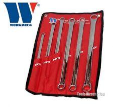 Welzh Werkzeug 816-ww EXTRA LUNGHE REACH AVIAZIONE 6pz Spanner Set 8mm - 24mm