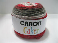 Caron Cakes Red Velvet Red 200g 7.1 oz Yarn Acrylic Wool Medium 17005