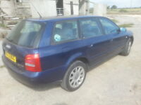 AUDI A4 B5 AVANT 1.9 TDI LZ5K SANTORIN BLUE, BREAKING PARTS SPARES WHEEL NUT