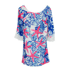 Lilly Pulitzer Harbor Tunic Dress She She Shells size Xs Starfish Holy Grail