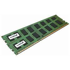 Crucial CT102472BA160B 2x8GB DDR3 1600MHz 240-Pin Unbuffered DIMM Memory Module