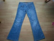 Size 10/12 Ralph Lauren Polo Blue Jeans with Popper Pockets