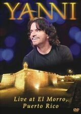 Yanni-LIve From El Morrom, Puerto Rico, New DVDs