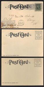 US 1905 LEWIS & CLARK EXPO PORTLAND OREGON 3 PC OF THE COLONADE, EUROPEAN BLDG &