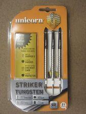 Unicorn Striker 21g Steel Tip Darts 80% Tungsten 5004 w/ FREE Shipping