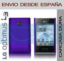 CARCASA FUNDA DURA MORADA LG OPTIMUS L3 E400 EN ESPAÑA