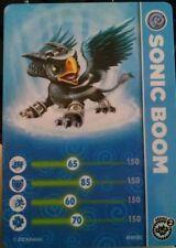 Sonic Boom Skylander Giants Stat Card Only!