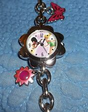 Tinkerbell & Friend Charm Bracelet Watch MINT