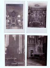 Lot 205: 4 AK PK Fotokarten Kirchen Gotteshäuser Altäre ungelaufen vor 1945