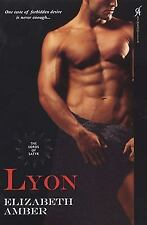 Lyon: Lords Of Satyr Amber, Elizabeth Paperback
