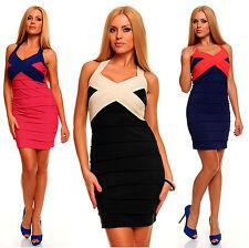 Polyester No Pattern Unbranded Regular Dresses for Women